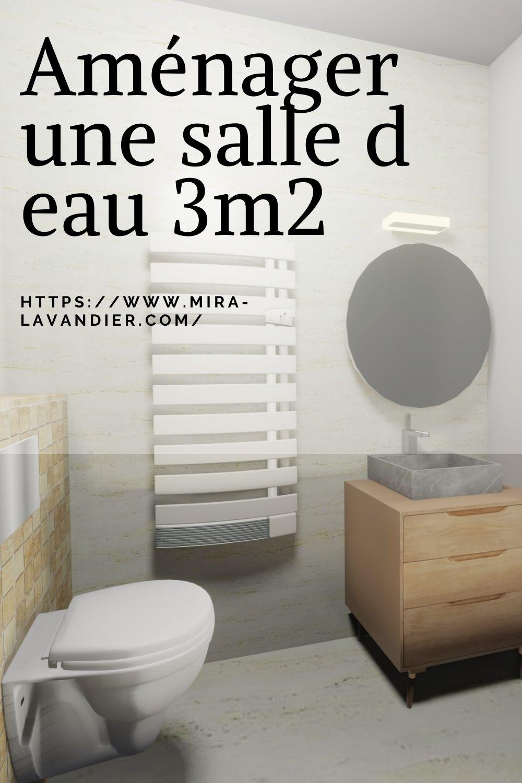 salle d eau 3m2