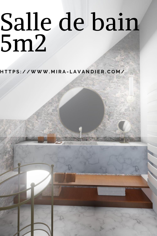 salle de bain 5m2