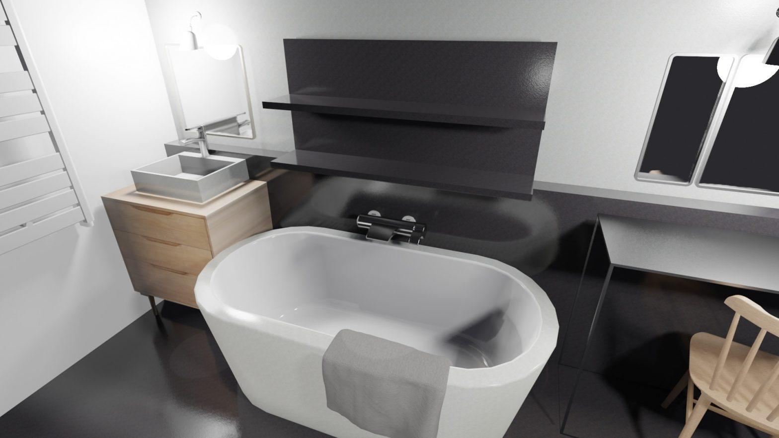 délacer une salle de bain