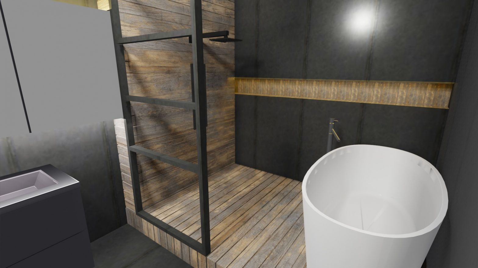 salle de bain 9m2